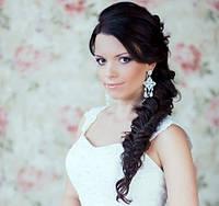Свадебные прически на длинные волосы для будущих невест
