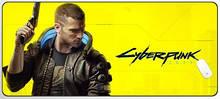 Игровая поверхность Cyberpunk 2077 900x400 Yellow Black