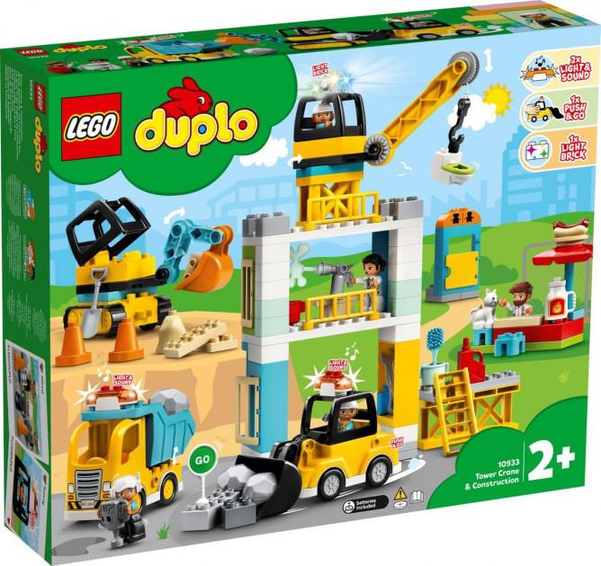 Lego Duplo Башенный кран на стройке 10933