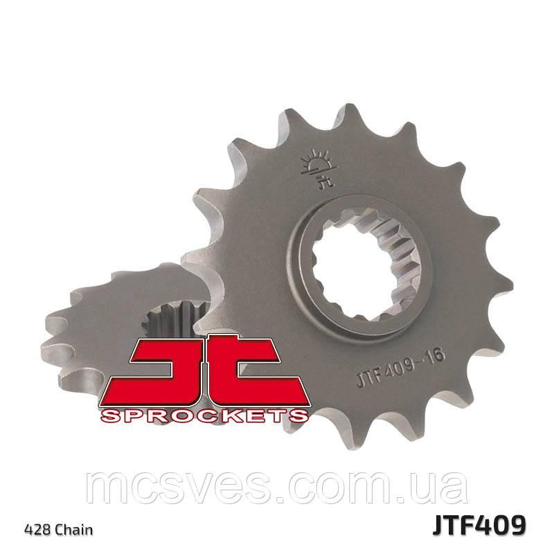 Звезда стальная передняя JT Sprockets JT JTF409.14