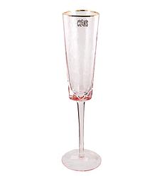 Келих для шампанського рожевий професійний посуд 150 мл
