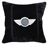 Авто подушка с вышивкой логотипа машины Tata тата подарок сувенир, фото 4