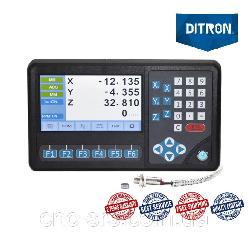 D80-3 з лічильником обертів трьохкоординатний пристрій цифрової індикації