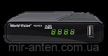 World Vision T624D3 DVB-T2(Акція)