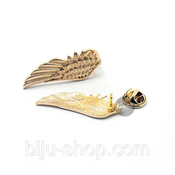 Запонки на воротник Крылья 3