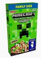 Сухие завтраки Kellogg's Minecraft Creeper Crunch Marshmallow 360 g