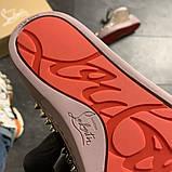 Женские кроссовки Christian Louboutin Louis Spikes, женские кроссовки кристиан лубутен, фото 8