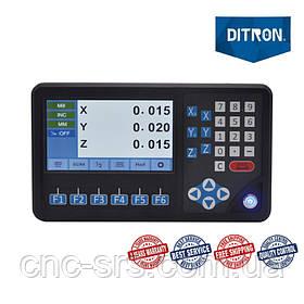 3 оси TTL 5 вольт LCD дисплей  устройство цифровой индикации D80-3