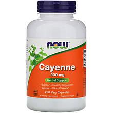 "Кайенский перец NOW Foods ""Cayenne"" 500 мг (250 капсул)"