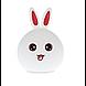 """Настольный светильник Детский силиконовый ночник """"Кролик"""", фото 6"""