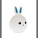 """Настольный светильник Детский силиконовый ночник """"Кролик"""", фото 4"""