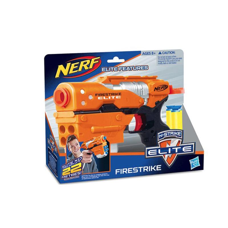 """Бластер NERF """"Firestrike"""" с поролоновыми снарядами, на батарейках, в коробке 11211"""