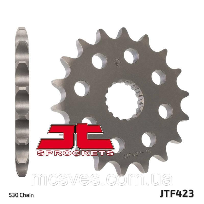 Звезда стальная передняя JT Sprockets JT JTF423.17
