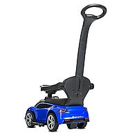 Каталка – толокар «Tesla» M 4318L-4 Синий (с мотором и аккумулятором), фото 3