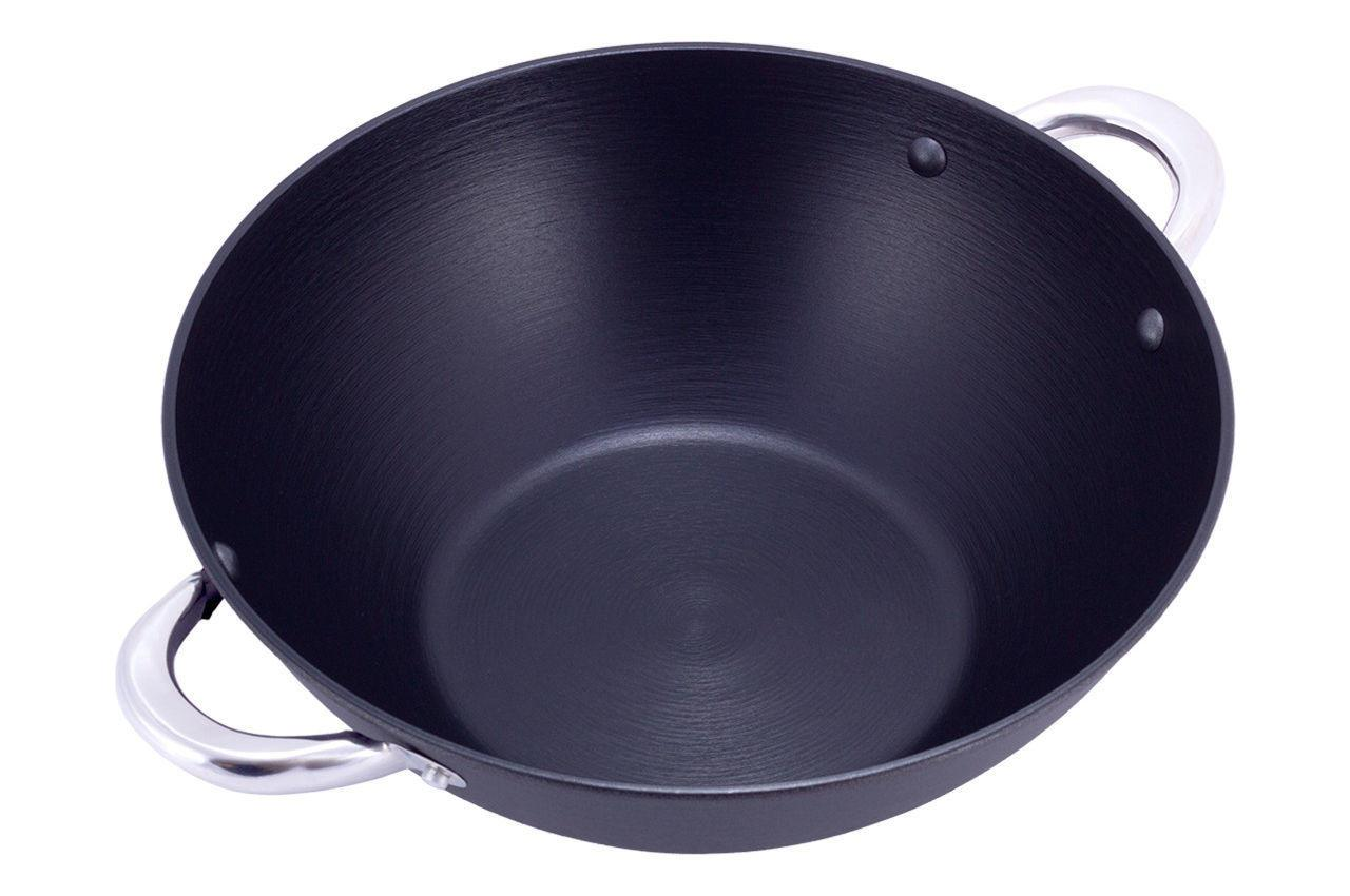 Сковорода чугунная Kamille - 230 мм Pro (4805)