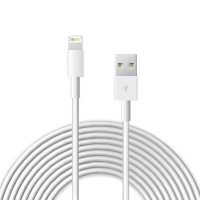 Кабель oneLounge Lightning USB 3m White для iPhone | iPod | iPad