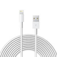 Кабель oneLounge Lightning USB 3m White для iPhone | iPod | iPad, фото 2