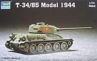 Сборная модель танка T-34/85 1944 г. 1/72