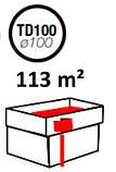 Водосточная воронка ф100 Белая для отвода воды с плоской кровли с парапетом, фото 8