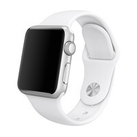 Ремешок oneLounge Sport Band 38mm | 40mm White для Apple Watch SE | 6 | 5 | 4 | 3 | 2 | 1 OEM