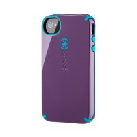 Противоударный чехол Speck CandyShell Purple | Blue для iPhone 4 | 4S