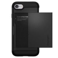 Чехол Spigen Slim Armor CS Black для iPhone 7 | 8 | SE 2020