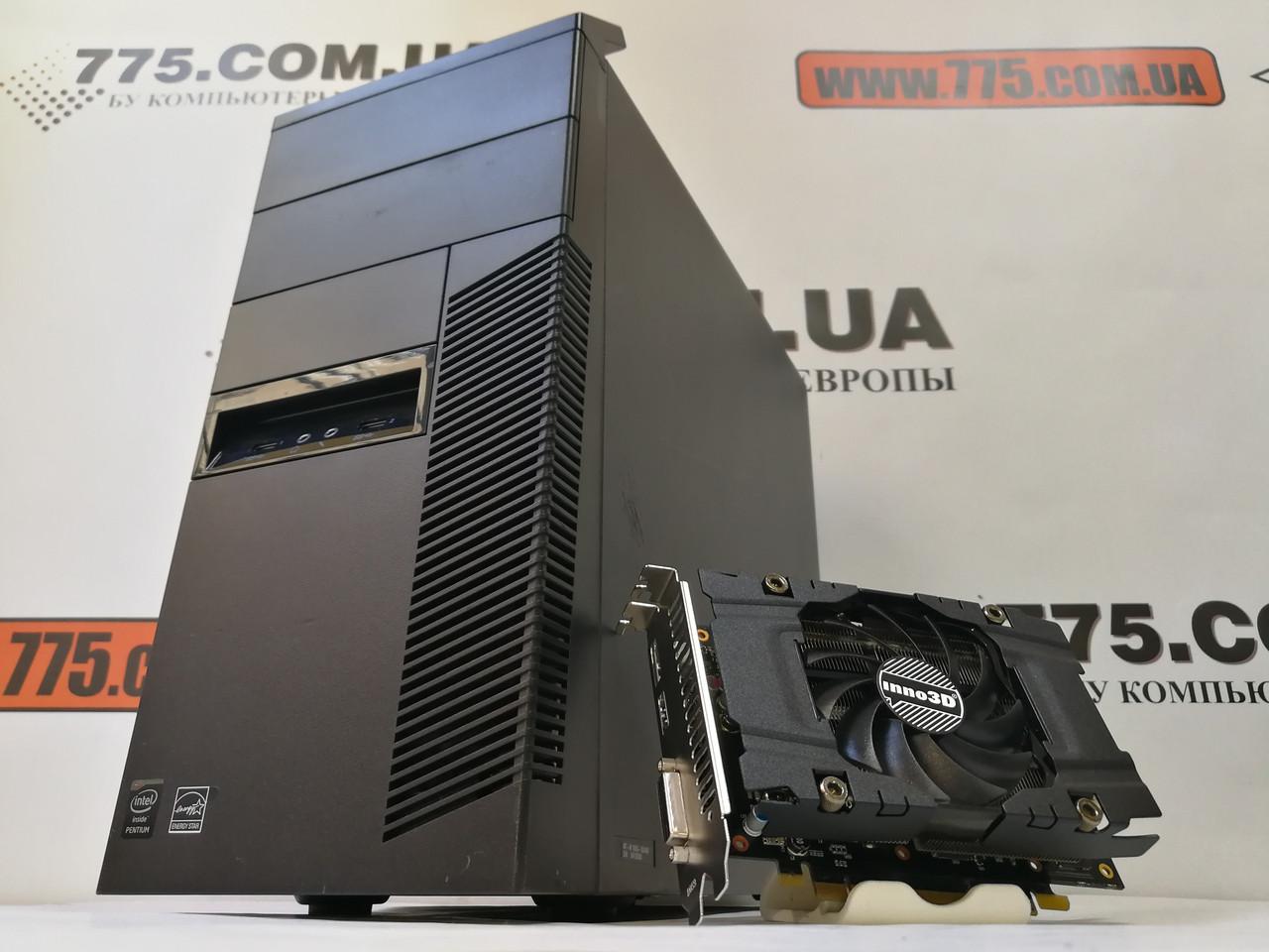 Компьютер Lenovo M83 (Tower), Intel Core i3-4130 3.4GHz, RAM 6ГБ, HDD 250ГБ, GeForce GTX 1060 3ГБ