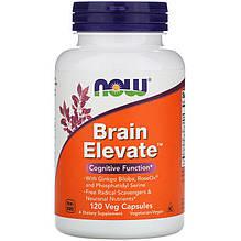 """Комплекс для улучшения работы мозга NOW Foods """"Brain Elevate"""" (120 капсул)"""