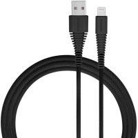 Кабель Momax Tough Link Black Lightning to USB 1.2m (MFi), фото 2