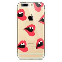 TPU чехол oneLounge Lips для iPhone 7 Plus | 8 Plus