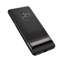 Чехол-накладка ROCK Royce Series Iron Gray для Samsung Galaxy S9