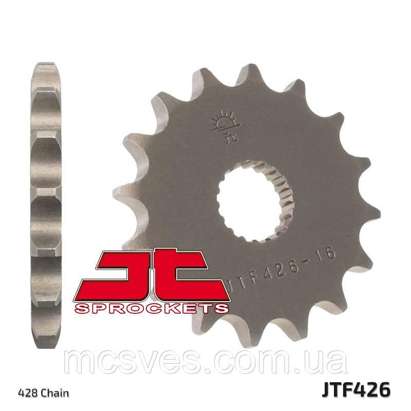 Звезда стальная передняя JT Sprockets JT JTF426.15