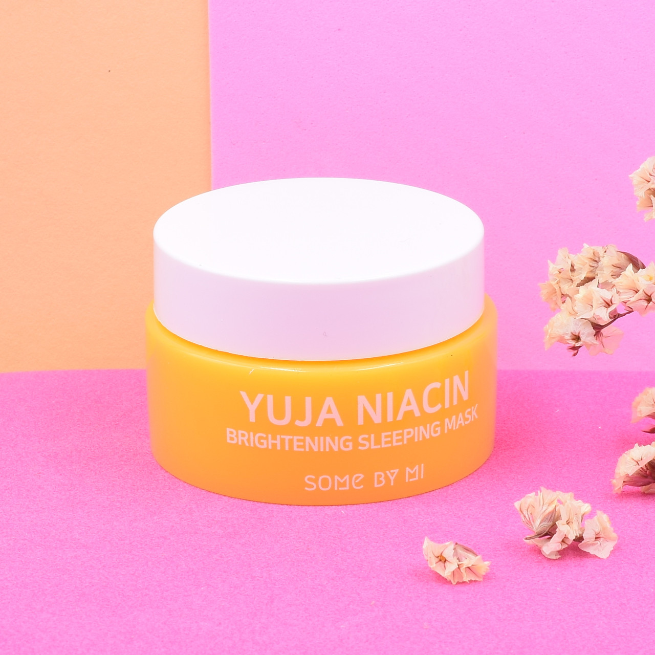Ночная осветляющая маска SomeByMi Yuja Niacin Brightening Sleeping Mask