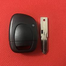 Ключ Рено Кенго Renault kangoo Clio 1 кнопкa ID46 433Mhz