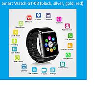 Умные часы Smart Watch GT-08 (black, silver, gold, red)