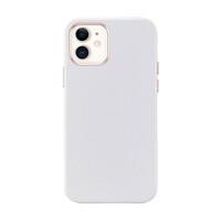 Белый кожаный чехол ESR Metro Leather White для iPhone 12 mini