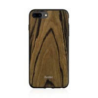 Противоударный чехол Evutec AER Series Wood Burmese Rosewood для iPhone 8 Plus | 7 Plus | 6s Plus | 6 Plus с