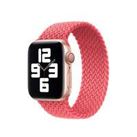 Плетеный монобраслет Apple Braided Solo Loop Pink Punch для Apple Watch 40mm | 38mm (MY6D2) Размер 4