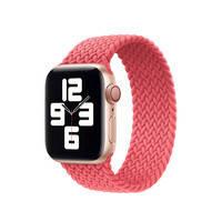 Плетеный монобраслет Apple Braided Solo Loop Pink Punch для Apple Watch 40mm | 38mm (MY6D2) Размер 4, фото 2