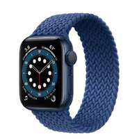 Смарт-часы Apple Watch Series 6 GPS, 40mm Blue Aluminium Case with Atlantic Blue (MG2A3)