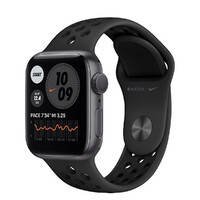 Смарт-часы Apple Watch Nike Series 6 GPS, 40mm Space Gray Aluminum Case with Anthracite   Black Nike Sport