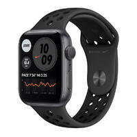 Смарт-часы Apple Watch Nike Series 6 GPS, 44mm Space Gray Aluminum Case with Anthracite   Black Nike Sport