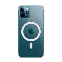 Прозрачный чехол Apple Clear Case MagSafe (MHLM3) для iPhone 12 | 12 Pro, фото 2