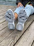 Женские кроссовки Nike M2K Tekno серого цвета (Кроссовки Найк М2К Текно серебристые), фото 5