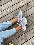 Женские кроссовки Nike M2K Tekno серого цвета (Кроссовки Найк М2К Текно серебристые), фото 6