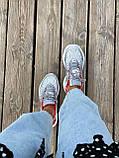 Женские кроссовки Nike M2K Tekno серого цвета (Кроссовки Найк М2К Текно серебристые), фото 7