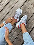 Женские кроссовки Nike M2K Tekno серого цвета (Кроссовки Найк М2К Текно серебристые), фото 8