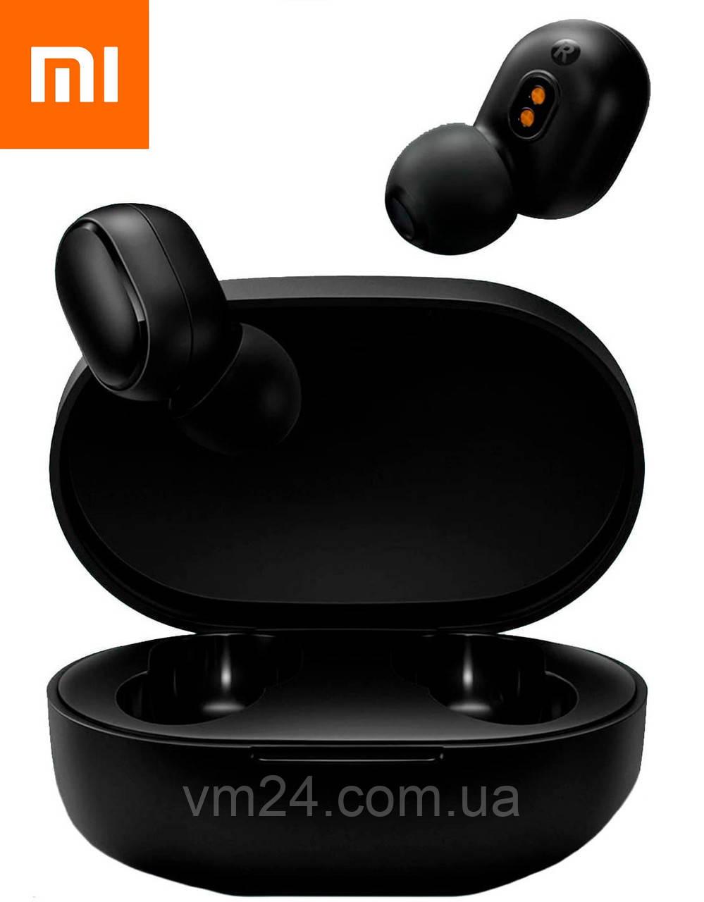 Беспроводные наушники Xiaomi Redmi AirDots 2 (Black) Global  черные международная верси