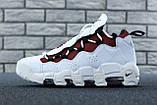 Кроссовки Nike Air Money белые кожаные, фото 2
