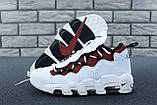 Кроссовки Nike Air Money белые кожаные, фото 3